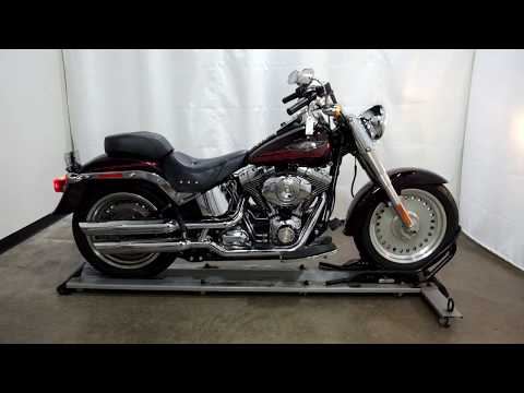 2007 Harley-Davidson FLSTF Softail® Fat Boy® in Eden Prairie, Minnesota - Video 1