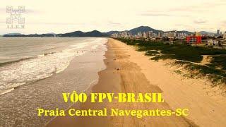 Vôo FPV na praia central de Navegantes-SC, Março 2021 (Mavis Air 2)