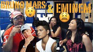 Bad Meets Evil - Lighters ft. Bruno Mars (Official Video) Producer Reaction