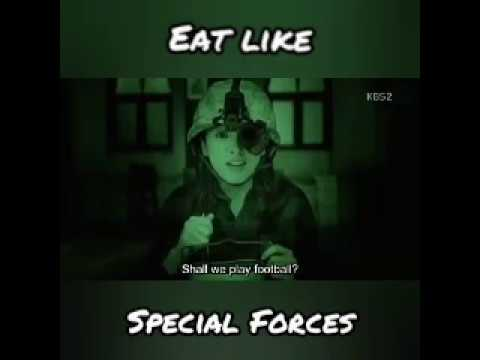 Song Hye Kyo eat like Special Forces with Song Joong Ki