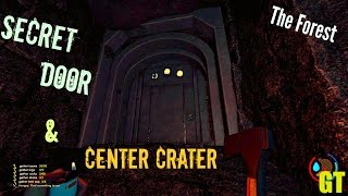 Bottom of THE CRATER and KEYCARD DOOR - The Forest Gameplay