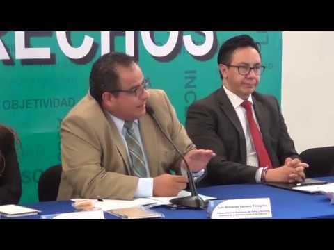 Firma de convenio entre la SGG y la CDHEP