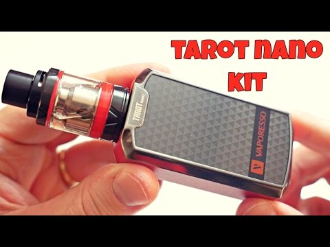 YouTube Video zu Vaporesso Tarot nano Kit mit Veco Verdampfer 80 Watt 2500 mAh 2 ml