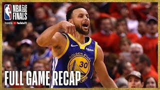 WARRIORS vs RAPTORS   Unbelievable Finish at Scotiabank Arena   NBA Finals Game 5