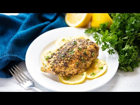 How to Make The Best Baked Lemon Pepper Chicken | The Stay At Home Chef