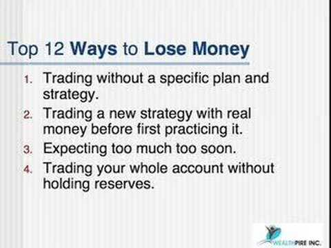 Money Management for Day Traders – live day trading (2/4)