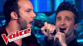 The Voice 2013   Benjamin Bocconi VS Julien Mior Lambert - La Quête (Jacques Brel)   Battle