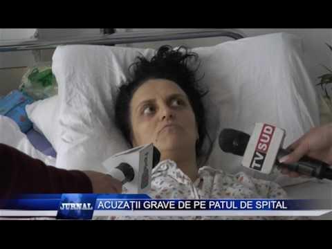 ACUZATII GRAVE DE PE PATUL DE SPITAL