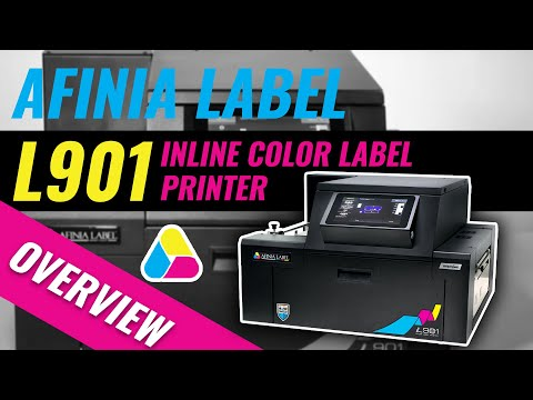 Digital Color Label Printer - Afinia Label L901/L901 Plus