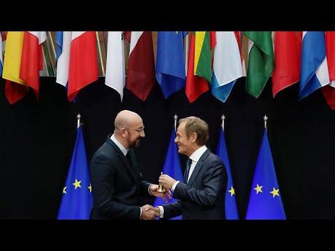 Βουτιά στα βαθιά για τον νέο πρόεδρο του Ευρωπαϊκού Συμβουλίου…