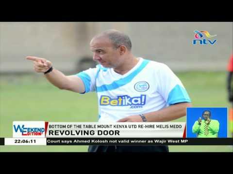 Bottom of the table Mount Kenya United re-hire Melis Medo