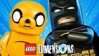 LEGO DIMENSIONS BR #20 : O JAKE DE HORA DE AVENTURA É ÉPICO!!!