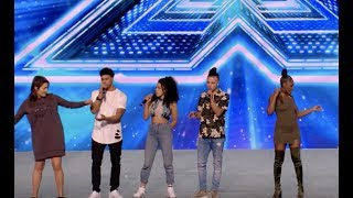 An Energetic Performance of 'Ain't No Mountain High Enough' | Boot Camp | The X Factor UK 2017