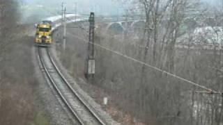 preview picture of video 'Přetah souprav metra'