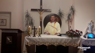 Msza święta i nabożeństwo różańcowe poniedziałek 09 października 2017r Godz.20.00