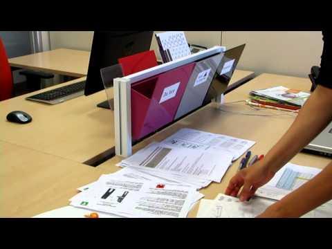 Come organizzare l'ufficio e la scrivania con Barra inUNO