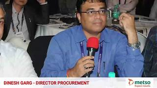Dinesh Garg, Director Procurement, Metso, Review - Competitors View, CPSCM™