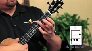 Ukulele Chords, The E Chord On The Ukulele