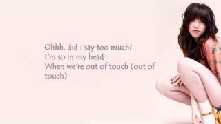 I really like you- Carly Rae Jepsen (LYRICS)