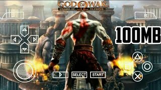 HOW TO DOWNLOAD GOD OF WAR CHAINS OF OLYMPUS HIGHLY COMPRESSED PSP ANDROID  100MB