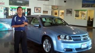 preview picture of video '2014 Dodge Avenger Walk Around Cutter Chrysler Pearl City Juan Santana'