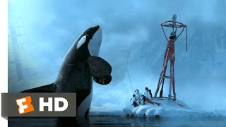Happy Feet (7/10) Movie CLIP - Killer Whale Attack (2006) HD