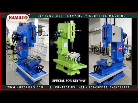 Ramato Vertical Slotting Machine 250 Mm