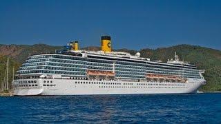Costa Mediterranea Tour 4K Ultra HD Cruises Ship Tour Greek Islands
