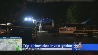 Suspect Identified In Newport Beach Triple Homicide