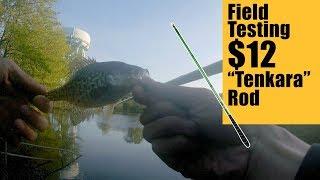 Field Testing Cheap TENKARA Rod - Weekend Warrior Fly Fishing テンカラ釣り