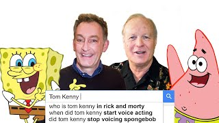SpongeBob's Tom Kenny & Bill Fagerbakke Answer the Web's Most Searched Questions | WIRED