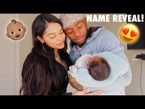 Download OUR OFFICIAL BABY NAME REVEAL!! HD Mp4 3GP Video and MP3