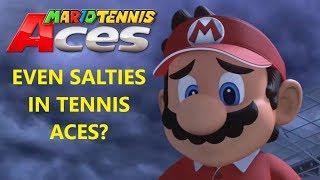 Mario Tennis Aces   Rage Quit Compilation