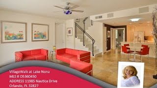 VillageWalk at Lake Nona Townhouse for Sale - 11985 Nautica Drive, Orlando, FL 32827