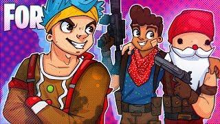3 Washington Boys & A Ninja!   Fortnite Battle Royale!