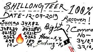Teer Shillong 24/06/2019, Shillong Teer Formula, Shillong