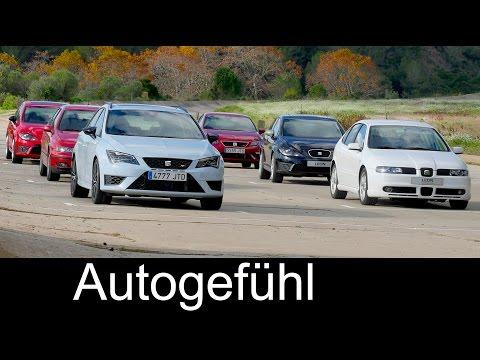 Seat Leon Cupra Sound check Leon I vs II vs III generations V6 vs TSI - Autogefühl