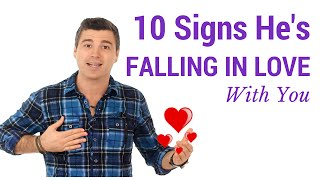 10 Signs He