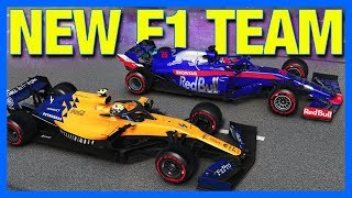 F1 2019 Career Mode : NEW F1 TEAM FOR 2019!! (Part 2)