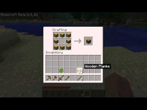 minecraft begginers item tutorial