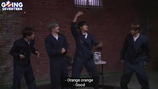 "[ENG SUB] GOING SEVENTEEN ""Orange Grape"" games was totally a mess"