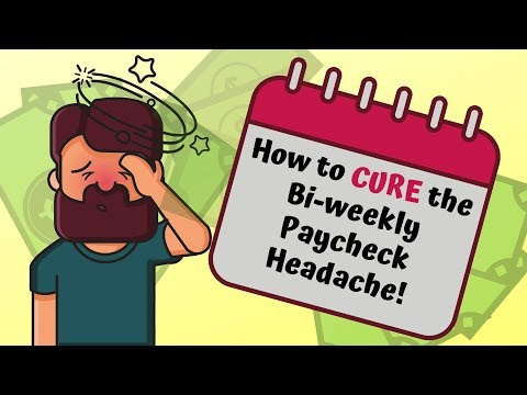 How to Stop The Biweekly Pay Headache!!