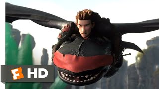 How to Train Your Dragon 2 - Rescuing Toothless Scene | Fandango Family