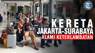 5 Kereta Api Relasi Jakarta-Surabaya Alami Keterlambatan karena Jakarta Banjir