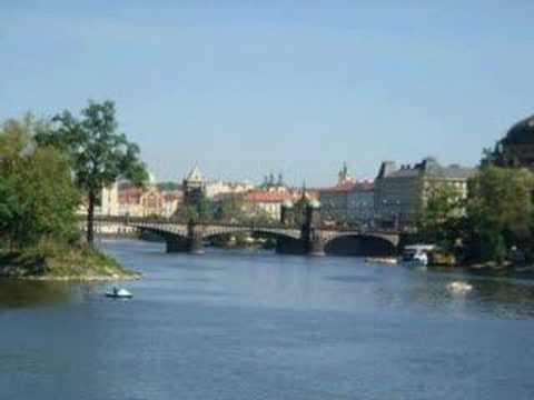 De Moldau en Praag