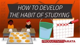 How to develop the habit of studying every day   Productivity Arata 21