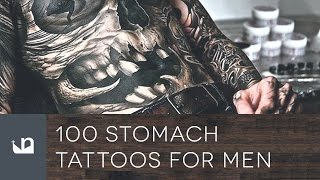 100 Stomach Tattoos For Men