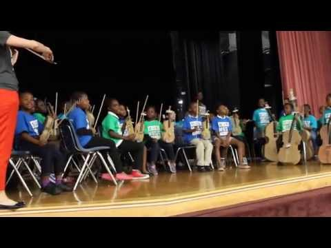 Miami Music Project Liberty City Paper Orchestra Graduation