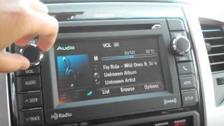 2012 Super White Tacoma Entune system with JBL speakers