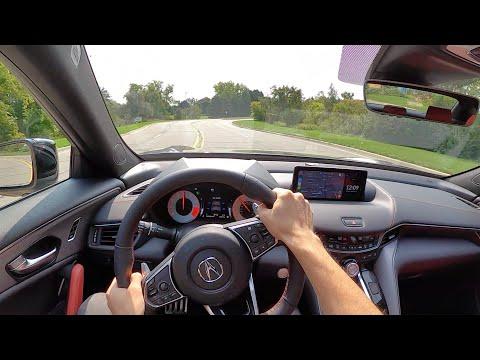 2021 Acura TLX A-Spec SH-AWD - POV Review